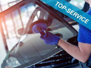 Tausch oder Reparatur von Windschutzscheiben, Top-Service